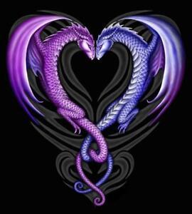 DRAGON HEART CROSS STITCH CHART, BN! (DH02) FREE UK POST