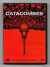 BLU-RAY DISC + DVD / CATACOMBES / FILM HORREUR