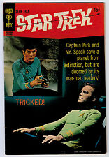 STAR TREK #5 4.0 GOLD KEY PHOTO COVER OFF-WHITE PAGES SILVER AGE C