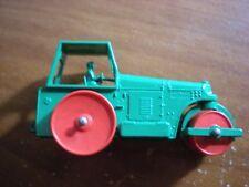LNIB MATCHBOX LESNEY NO 1 DIESEL ROAD ROLLER, RARE PLASTIC ROLLERS
