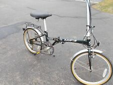 "Vgt Dahon Boardwalk Portable Folding Bike 6 Speeds 20"" Wheels"