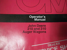 John Deere Operator'S Manual 210 And 310 Auger Wagons Issue L3