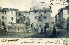 VITERBO, PIAZZA SAN FAUSTINO, ED. MERENDI, 1905       m