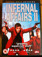 Anthony Wong INFERNAL AFFAIRS II / 2 ~ 2003 Hong Kong Action Classic ~ DVD