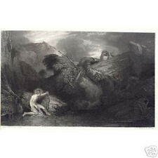 Print - J.M.W Turner: Apollo killing the python - Ready to frame