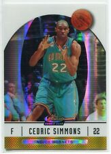2006-07 Finest Gold Refractor 69 Cedric Simmons Rookie 50/50