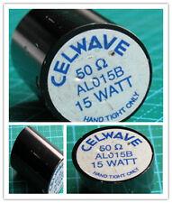 CELWAVE AL015B 50 Ohm 15 watt RF dummy load screws onto female N connector