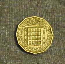 Birthday present 1966 threepence football world cup England brass coin