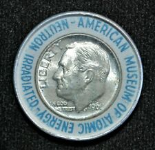 Encased 1961 United States Dime, American Museum of Atomic Energy