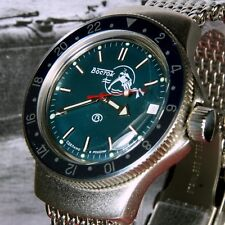 Vostok Amphibian, Amphibia 'Rare Bezel' Auto Dive Watch, New, Boxed, UK seller