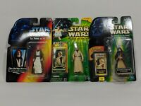 Lot of 3 Star Wars POTF POTJ Obi-Wan Ben Kenobi Action Figures New Sealed