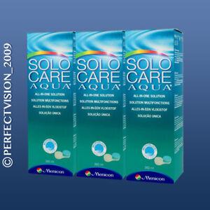 Solo Care Aqua Pflegemittel 3 x 360ml All in One 3 Monatsvorrat