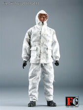 HOT FIGURE TOYS Fire Girl Toys 1/6 navy seals Snow digital combat uniform