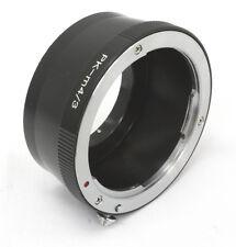 Pentax K PK Objektiv adapter für Micro 4/3 kamera Olympus OM-D Panasonic GX8