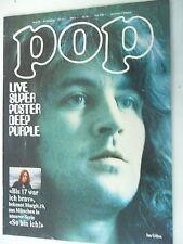 1 x Magazin - Pop Nr.7 - 8. Jahrgang -1973  seltene Musikzeitschrift -Z.sehr gut
