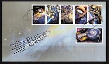 2007 Australia Blast Off 50 Years In Space Set Of 6 FDC, Mint Condition