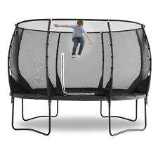 NEW Plum 12ft Premium Magnitude Circular Trampoline Enclosure Net Safety Pad Toy