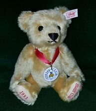 "STEIFF Bear DECADE of LOYALTY 10"" Golden Mohair"