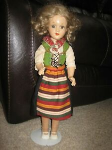"Beautiful Vintage 17"" Arranbee R&B All Composition Debu'teen Doll Unmarked"