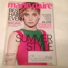JENNIFER LAWRENCE marie claire Magazine June 2014 Stylish, Sexy