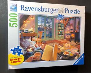 Ravensburger Puzzle 500 Piece Living Room [ No 149674 ] NEW