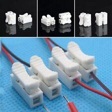 30 Elektrische Verbindungsklemmen Steckklemmen Spleiß Drahtklemmen CH2 2polig