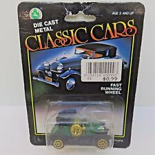 Classic Cars Diecast Fast Running Wheels Krieger Toy Car New in Pkg