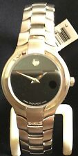 Authentic Swiss Movado Portico Womens Ladies 0604569 Stainless Watch Retail