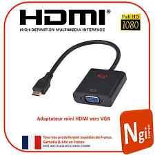NGI-1080P mini HDMI Mâle vers VGA Femelle Video Convertisseur Adaptateur