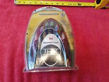 Monster Ultra Component Video 1000 4 Ft Cables THX 24kt Gold Contacts Sealed