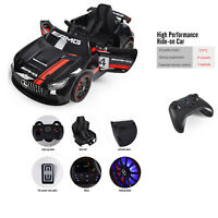 Kids Ride On Car 12V Electric Mercedes Benz MP3 Remote Control 3 Speed Led Light