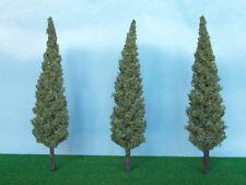 Alberi di Cipressi per modellismo scala H0 1:87 cm.10,5 pz.3 - Krea