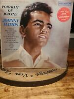 JOHNNY MATHIS PORTRAIT OF JOHNNY VINYL LP COLUMBIA LIMITED EDITION STARBRIGHT EX