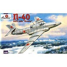 "IL-40 ""BRAWNY"" SOVIET JET-ENGINED ARMORED AIRCRAFT 1/72 AMODEL 72158"