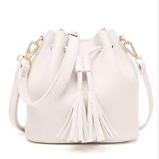 2017 ladies Korean tassel bag handbag shoulder bag White #1