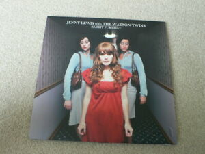 Jenny Lewis With The Watson Twins Lp 2006.Rabbit Fur Coat. With Poster