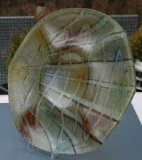 Grosse Moderne Glas Anbietschale 5 Fächer !!! Handarbeit !!!