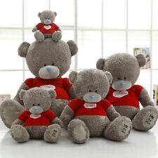 Teddy Bear Plush Toys Sweater Cute Patch Bear Soft Stuffed Animals 1pc 40cm