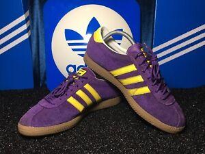 Adidas Malmo Purple, rare 2011 Size 8 In Excellent Condition, Purple Colourway.