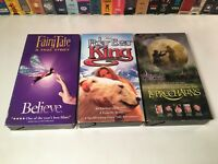 Family Fantasy VHS Lot of 3 Fairy Tale: A True Story Polar Bear King Leprechauns