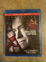 EXCELLENT CONDITION—Bridge of Spies (Blu-ray+DVD+Digital, 2016) Free Shipping