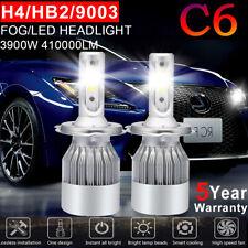 2X H4 9003 CREE LED Headlight Kit 1500W 225000LM 6000K Hi/Low Beam Bulbs HB2 C6