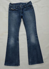 "Diesel Louvely distress/bleach/worn jeans i'lg 28.5"" W 27"" Size 8 ?"