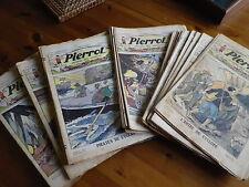 PIERROT journal des garçons année complète 1933 bon état / TBE 53 numéros