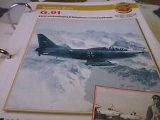 Fliegen 4: Karte 1 Aeritalia 8Fiat) G 91