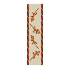 Loom Bead Pattern - Baby Geckos Cuff Bracelet