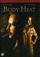 Body Heat [Deluxe Edition] (2006, DVD NIEUW) CLR/WS/Deluxe ED.