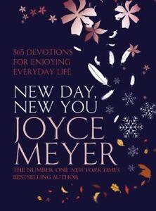 New Day, New You: 365 Devotions for Enjoying Everyday Life,Joyce Meyer