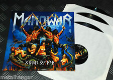 Manowar 'Gods Of War' 1st Press EU 2007 Original Triple Vinyl GF-LP Set NM Power
