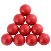 10Pcs Lathe Tractor Machine Plastic Round Ball Knob Handle Black/Red 16/20/25mm